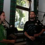 Bandprobe in Buke 2009